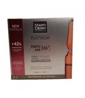 Martiderm Platinum Photo Age HA 10 ampollas