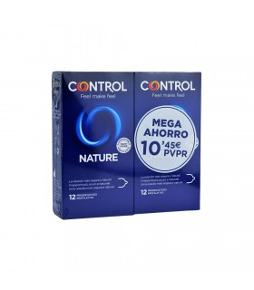 Control Nature Preservativos Pack Ahorro 12+12 Preservativos