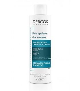 Vichy Dercos Champú Ultracalmante Pelos Normales a Grasos 200 ml