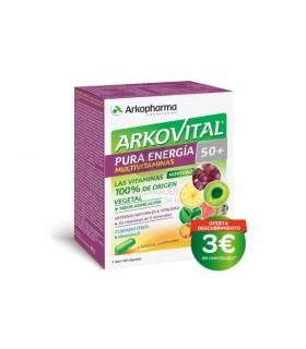 Arkovital Pura Energia 50+ 60 Capsulas