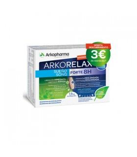 Arkorelax SueÑO Forte 8H 30 Comp Bicapa