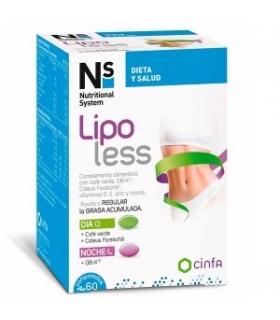 NS Lipoless 60 Comprimidos
