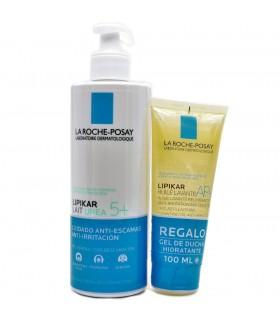 La Roche Posay Lipikar Leche Urea 5+ 400 ml + Regalo Gel Ducha Hidratante 100 ml