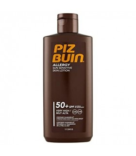 Piz Buin Allergy FPS 50+ Loción Corporal Piel Sensible 200 ML