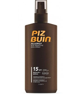 Piz Buin Allergy FPS15 Spray Piel Sensible 200 ML