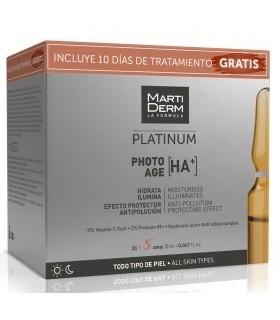 Martiderm Platinum Photo Age HA+ 30 Unidades + 10 días de Tratamiento Gratis