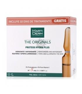 Martiderm Proteos Hydra Plus 30 Ampollas  + 10 Dias De Tratamiento Gratis