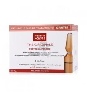 Martiderm Proteos Liposome Oil-Free 30 Ampollas + 10 dias Tratamiento Gratis