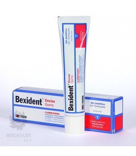 BEXIDENT ENCIAS GEL DENTIFIRICO (ROJO) 75 ML.
