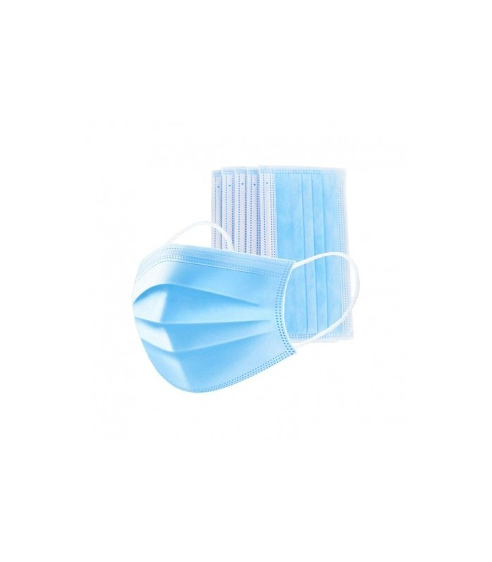 Mascarilla Higienicas 3 Capas 50 Unidades